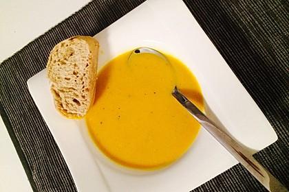 Kürbis - Kokos Suppe 7