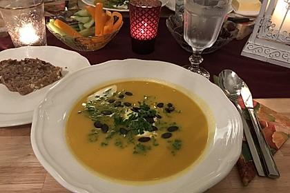 Kürbis - Kokos Suppe 25