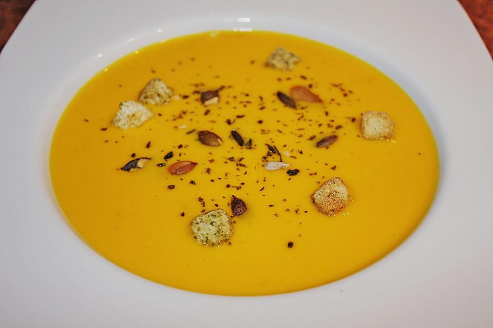 Kürbis - Kokos Suppe (Rezept mit Bild) von bostgt | Chefkoch.de