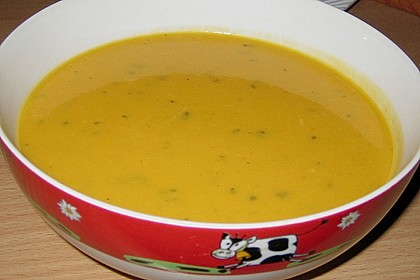 Kürbis - Kokos Suppe