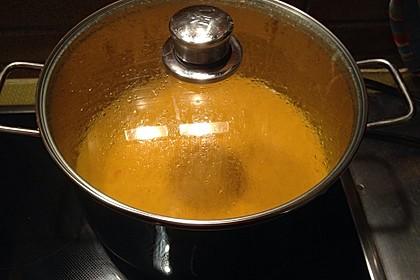 Kürbis - Kokos Suppe 24
