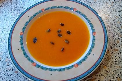 Kürbis - Kokos Suppe 9