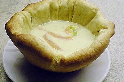 Kartoffel - Lauchcremesuppe 8
