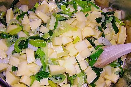 Kartoffel - Lauchcremesuppe 14