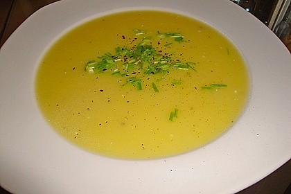 Kartoffel - Lauchcremesuppe 1