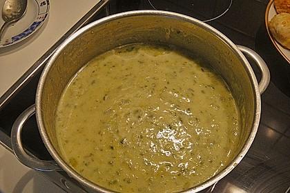 Kartoffel - Lauchcremesuppe 9