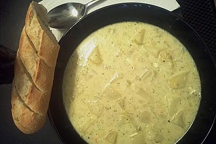 Kartoffel - Lauchcremesuppe 16