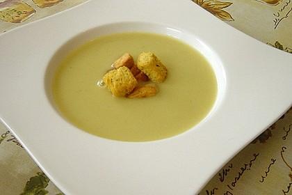 Kartoffel - Lauchcremesuppe 13