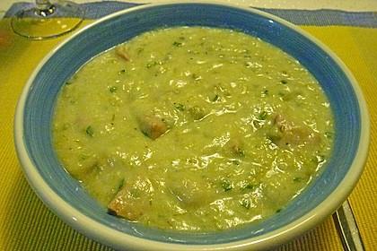 Kartoffel - Lauchcremesuppe 2