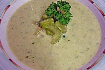 Staudensellerie Creme - Suppe 3