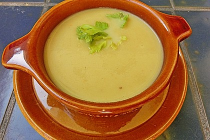 Staudensellerie Creme - Suppe 1