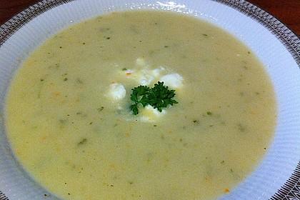 Staudensellerie Creme - Suppe 8
