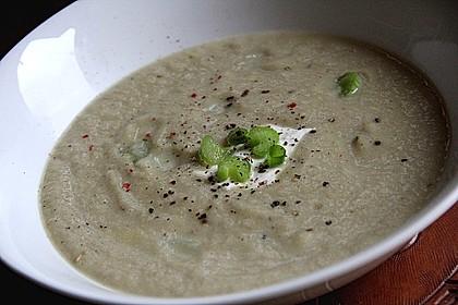 Staudensellerie Creme - Suppe 12