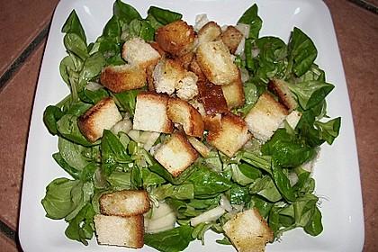 Feldsalat mit Birnen 12