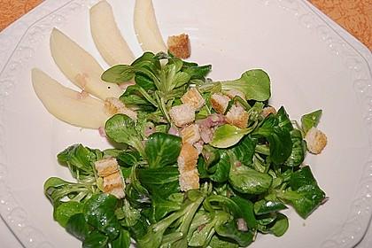 Feldsalat mit Birnen 2