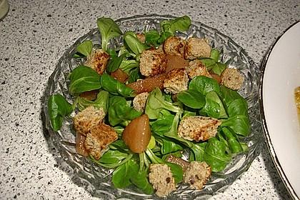 Feldsalat mit Birnen 14