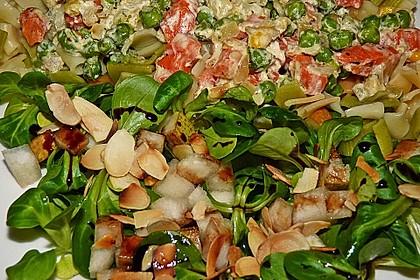 Feldsalat mit Birnen 15