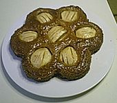 Versunkener Apfel - Zimt - Kuchen (Bild)