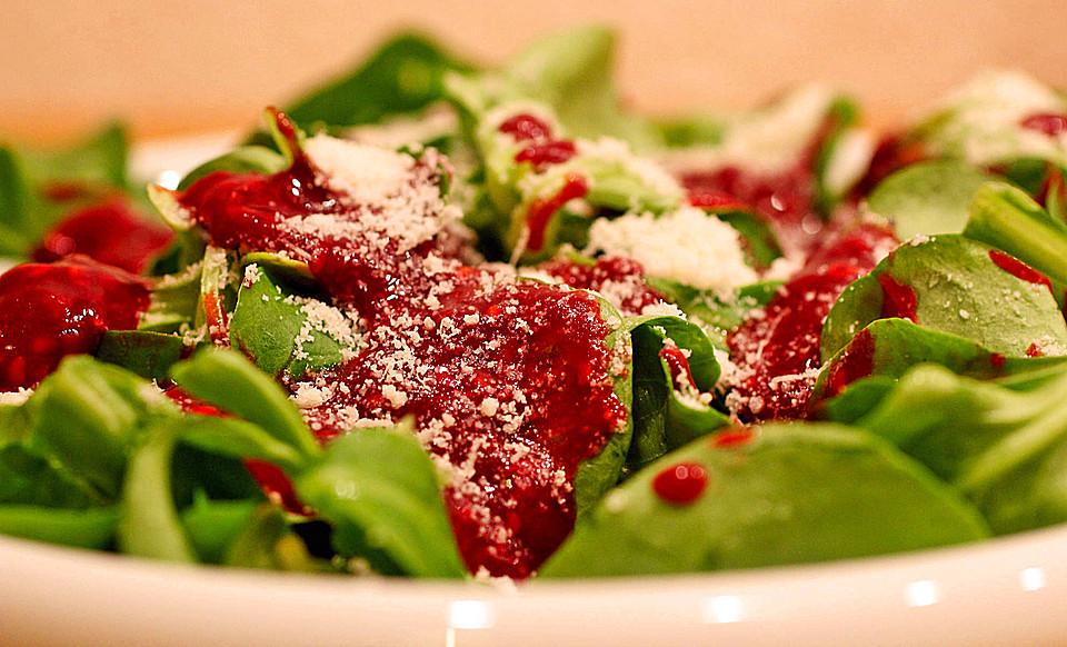 Rezept salatdressing himbeer