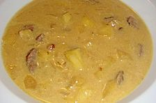 Curry - Rahm - Suppe