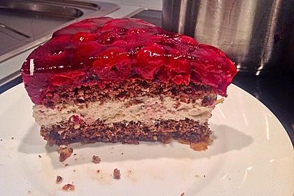 Kirsch - Torte mit Mascarpone Crème 2