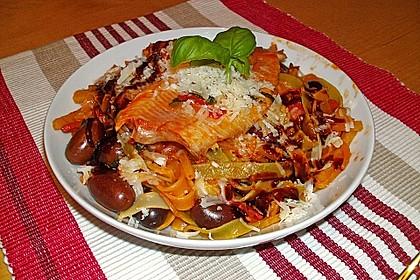 Spaghetti mit Tomaten - Thunfischsauce