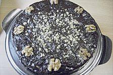 Schokoladenkuchen mit Zimt