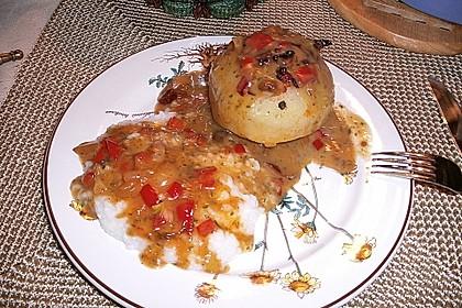 Gefüllter Kohlrabi mit Paprika 1