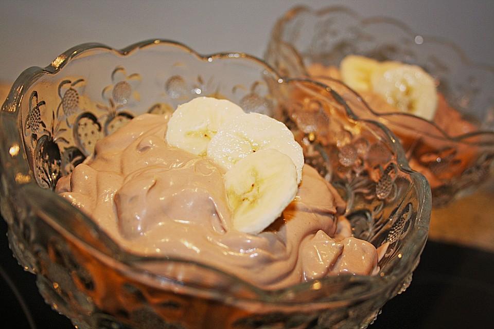 Amerikanischer Kühlschrank Quark : Bananen nutella quark von gabi77 chefkoch.de