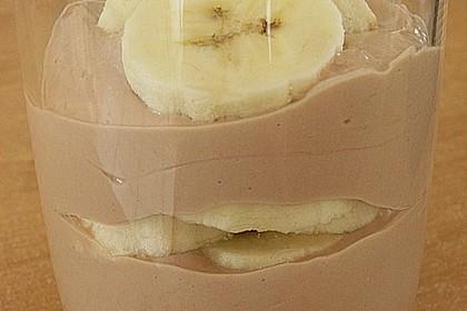 Bananen - Nutella - Quark 5