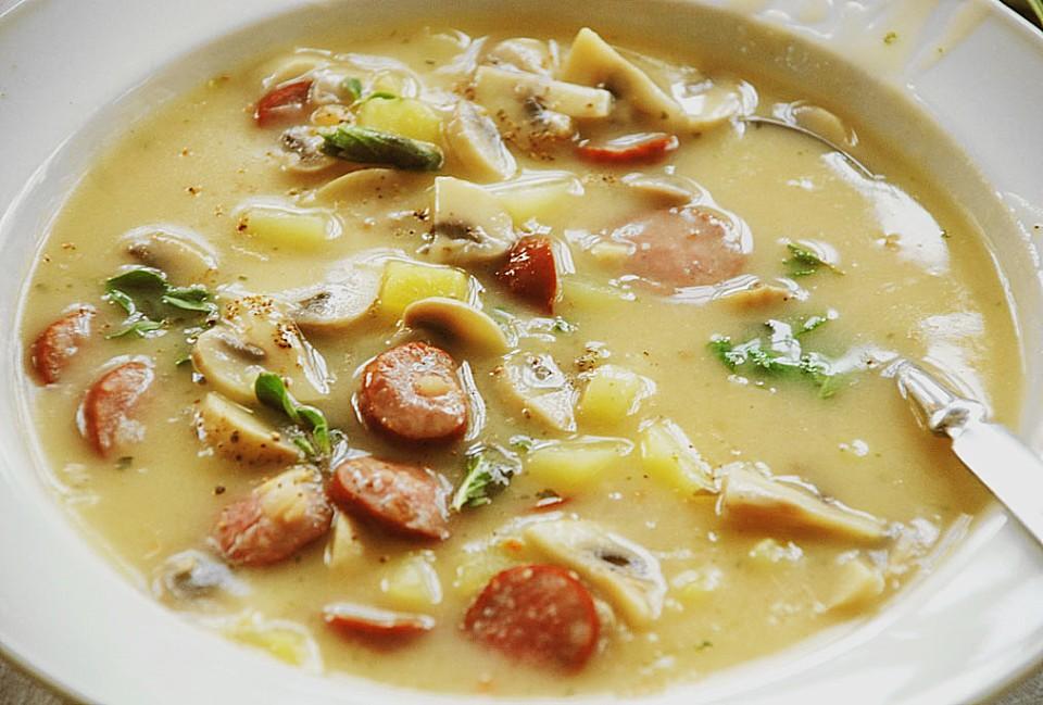 Rezepte champignons kartoffel