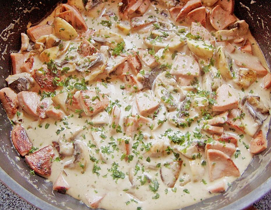 fleischwurst pfanne rezepte