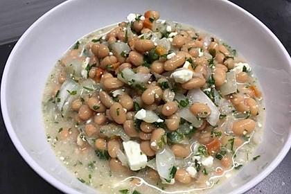 Piyaz; weißer türkischer Bohnensalat 11