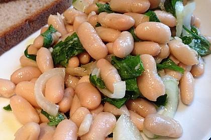 Piyaz; weißer türkischer Bohnensalat 9