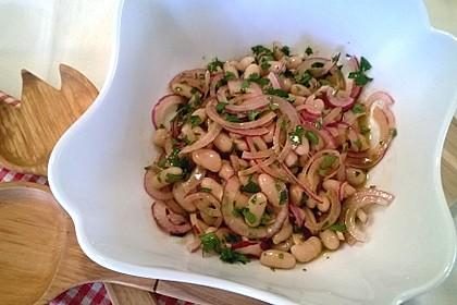 Piyaz; weißer türkischer Bohnensalat 2