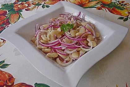 Piyaz; weißer türkischer Bohnensalat 4