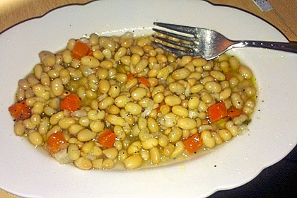 Piyaz; weißer türkischer Bohnensalat 34