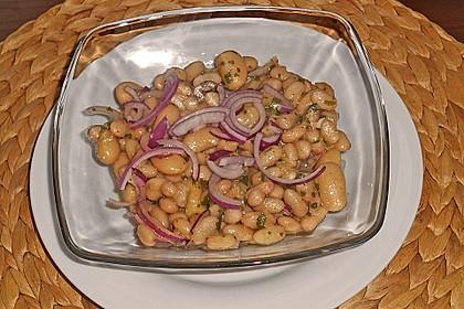 Piyaz; weißer türkischer Bohnensalat 21