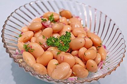 Piyaz; weißer türkischer Bohnensalat 1