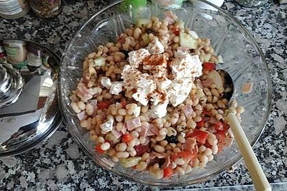Piyaz; weißer türkischer Bohnensalat 12