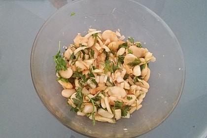 Piyaz; weißer türkischer Bohnensalat 14