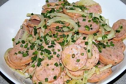 Bayerischer Wurstsalat 4
