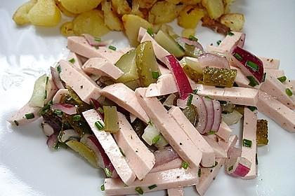 Bayerischer Wurstsalat 2
