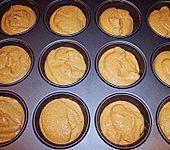 Kürbis - Muffins (Bild)
