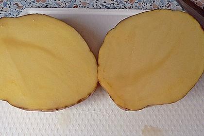 Backofenkartoffeln mit Käsefüllung 3