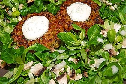 Feldsalat an Champignons 4