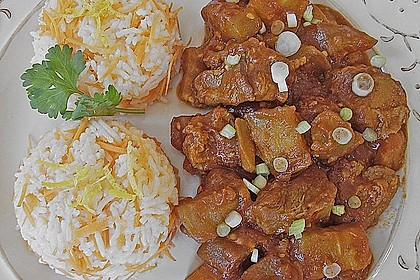 Khoresht - e- Bademjan   -   Lammfleisch mit Auberginen 1