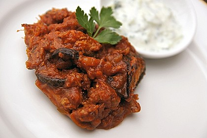 Khoresht - e- Bademjan   -   Lammfleisch mit Auberginen 3