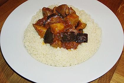 Khoresht - e- Bademjan   -   Lammfleisch mit Auberginen 4