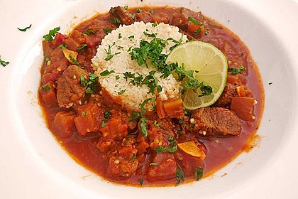 Khoresht - e- Bademjan   -   Lammfleisch mit Auberginen